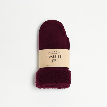 Toasties Mittens - Bordeaux