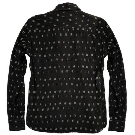ALTER Berkley Ikat Shirt - Black