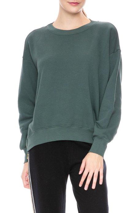 Sundry Side Zipper Sweatshirt - Sea