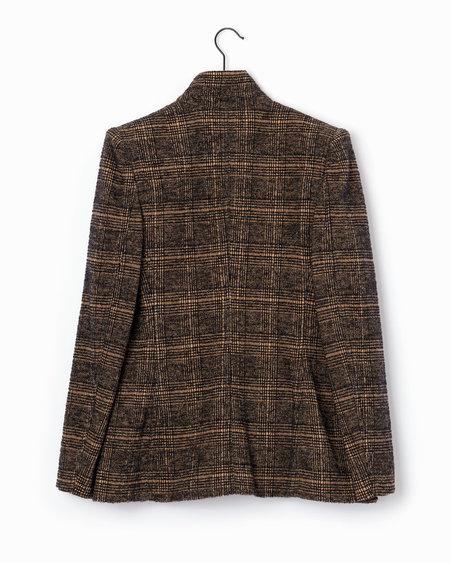 Philosophy di Lorenzo Serafini Blazer - Brown/Black Check
