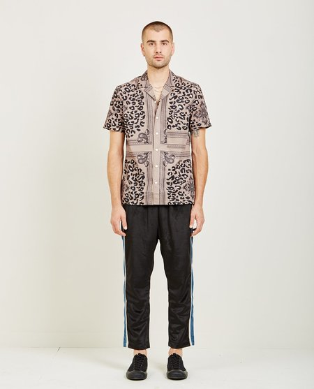Candor ESTATE HAWAIIAN SHIRT - BELUGA BEIGE