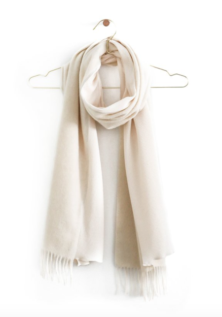 Donni Charm Duet Scarf - Creme