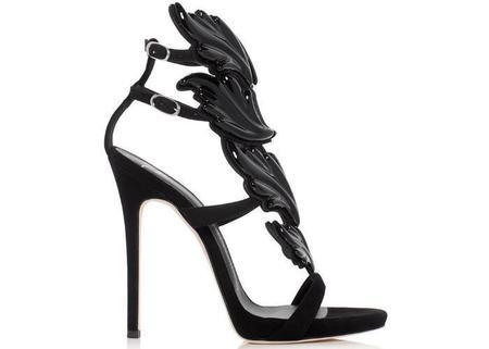 Giuseppe Zanotti Coline Cruel Wing High Heel Sandals - Black