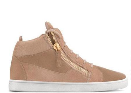Giuseppe Zanotti Jamie High-Top Sneaker - Nocciola