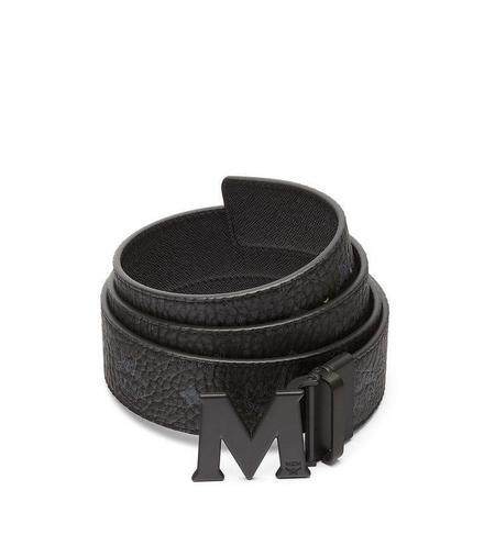 "MCM Claus Reversible Belt 1.75"" - Black"