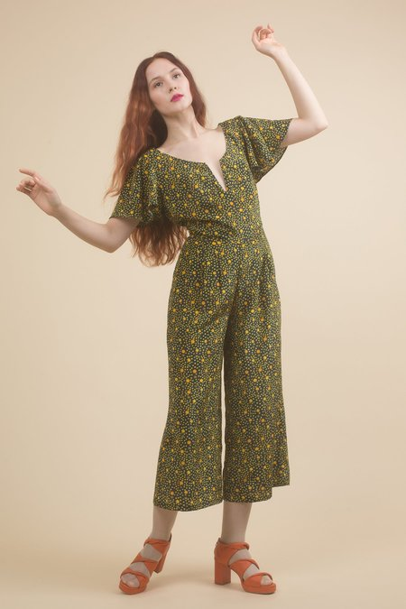 Samantha Pleet Comet Jumpsuit - Star Print