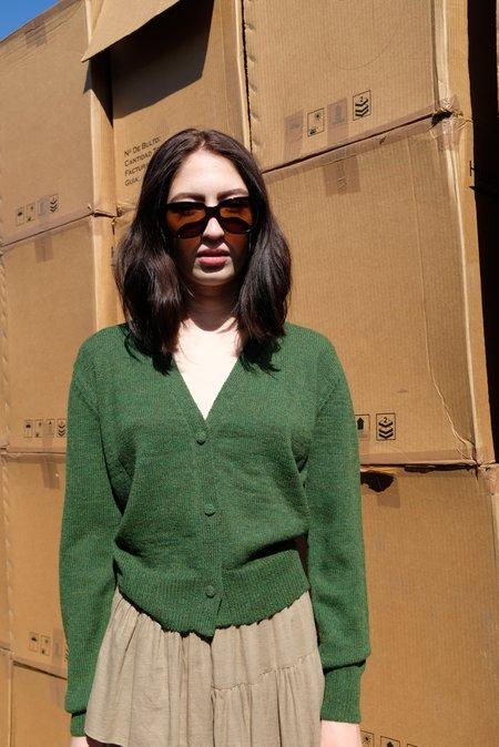 Beklina Alpaca Cardigan Sweater - Fauna