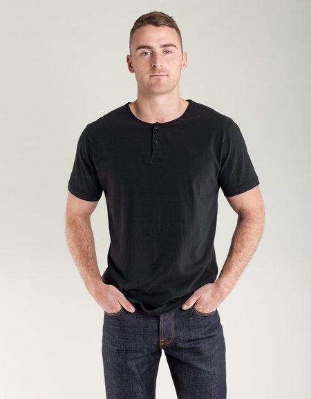 Homespun Knitwear Great Plains Tee - Aged Black