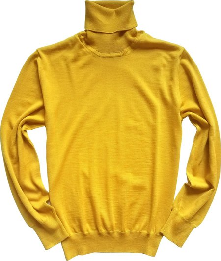 David Hart Turtleneck - Mustard
