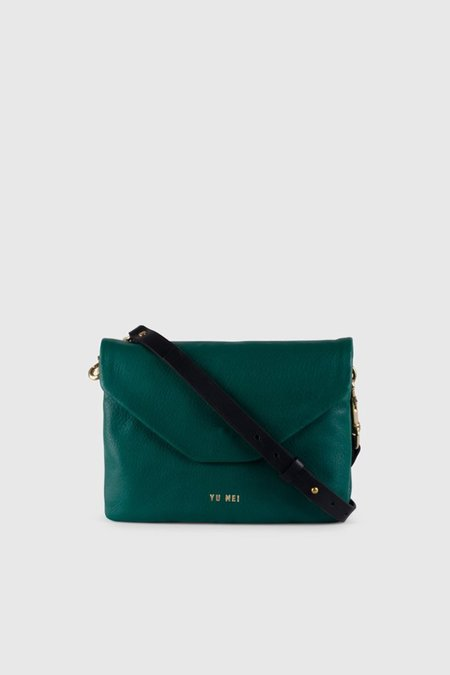 Yu Mei 2/6 Rebecca Bag - Bottle Green