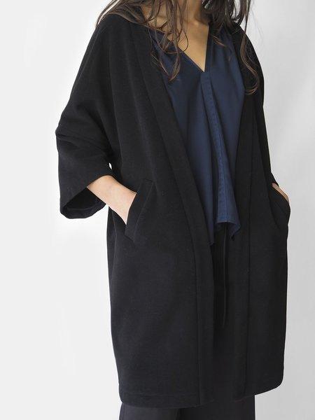 Erica Tanov Clyde Coat - Black