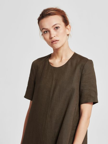 Juliette Hogan Ela Dress - Army