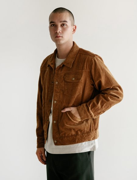 Engineered Garments Type 111 Jean Jacket - Corduroy Chestnut