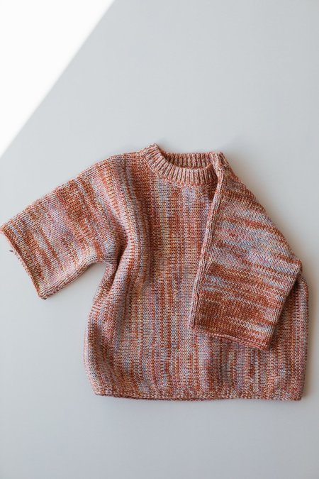 Kids Millk Knit Tee - Heirloom