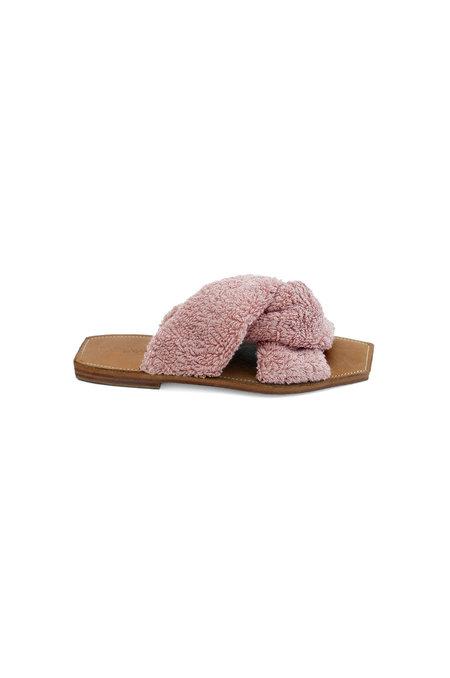Parme Marin Towel Off Twist Sandal