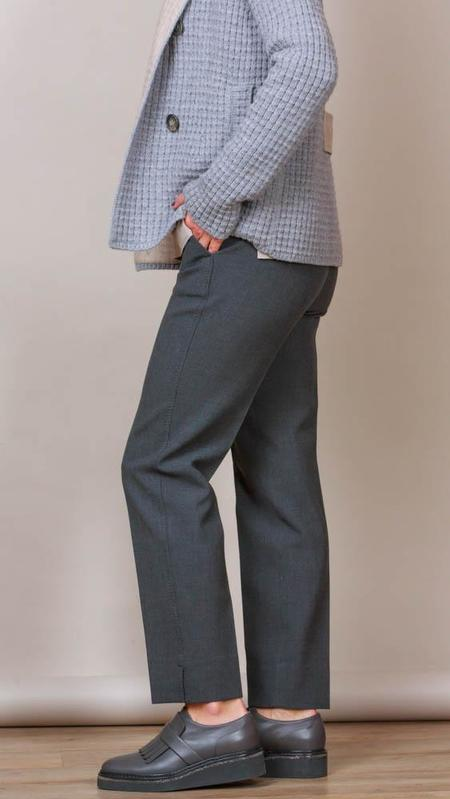 Peserico Pants With Pockets - Charcoal