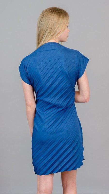 Issey Miyake Large Pleat Dress/Shirt - Indigo