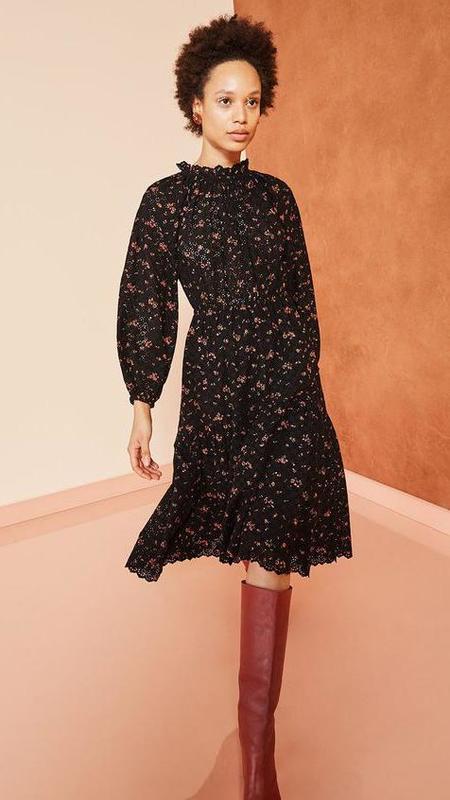Ulla Johnson Ambre Dress - Noir Floral