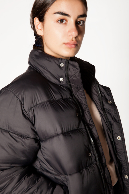 FILA Raya Puff Jacket - BLACK