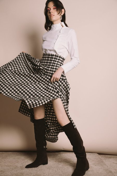 Ajaie Alaie Gather Together Skirt - Chess