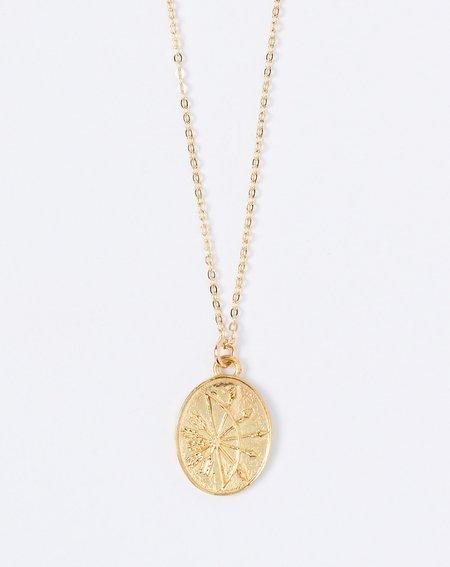 Talon Sagittarius Zodiac Necklace