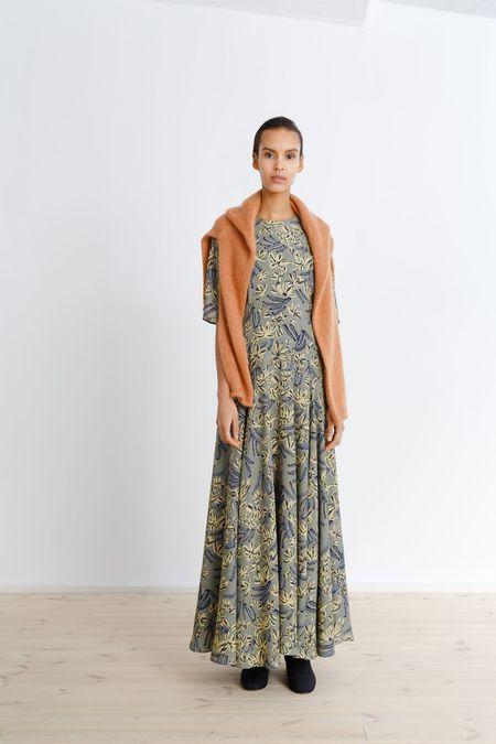 Samuji Gratia Dress - Green/Yellow/Light Blue