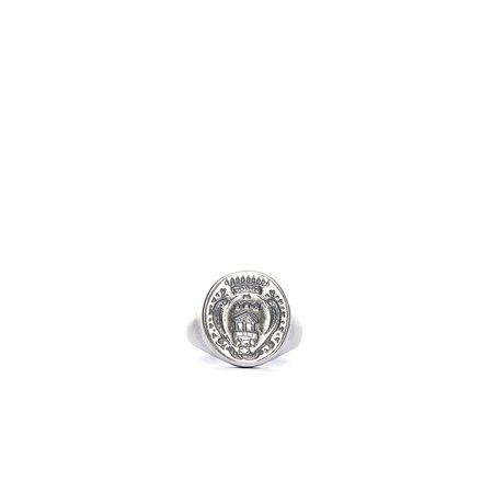 GOTI Engraved Ring - Silver