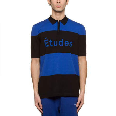 ÃTUDES Stadium Striped T-shirt - Blue