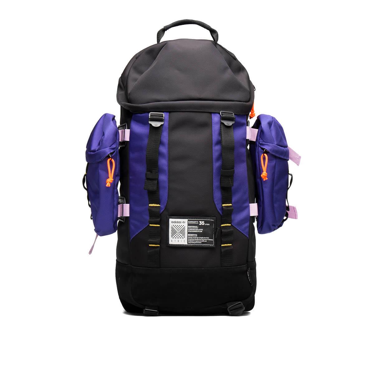 Adidas Originals Atric Backpack - Black Purple  7ecb6de371e9e