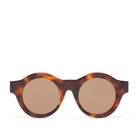 Kuboraum A1 HS Sunglasses - Havana Shine