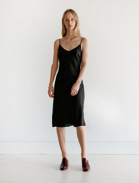Organic by John Patrick Zelda Bias Slip Dress - Black