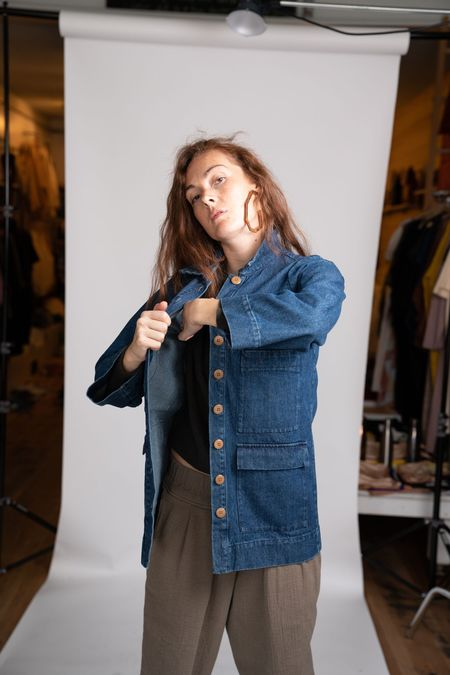 Ilana Kohn Mabel Jacket - Denim