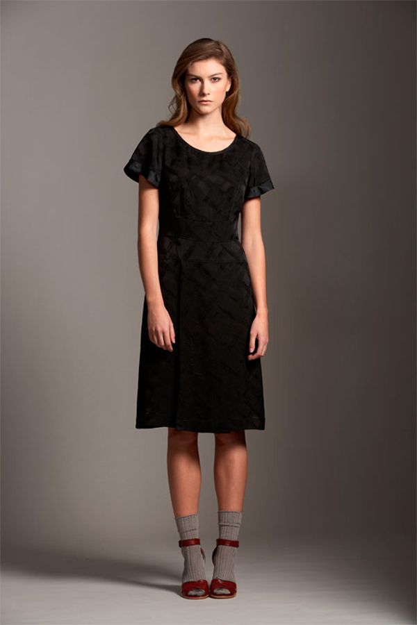 Comrags Cross Jacquard Five Dress