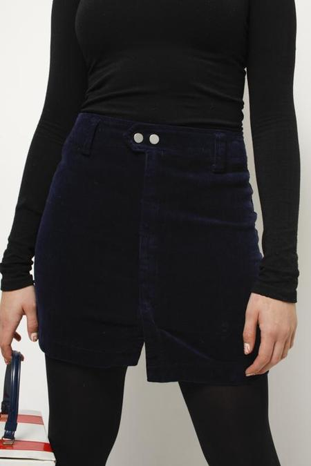 Cotton Candy PLAYING HOUSE MINI SKIRT - NAVY