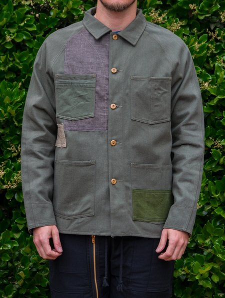 Knickerbocker Mfg. Co. x Hamid Holloman Patchwork Chore Coat