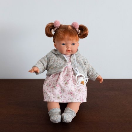 """Kids Shop Merci Milo Clare Crying Baby Doll- 13"""""""