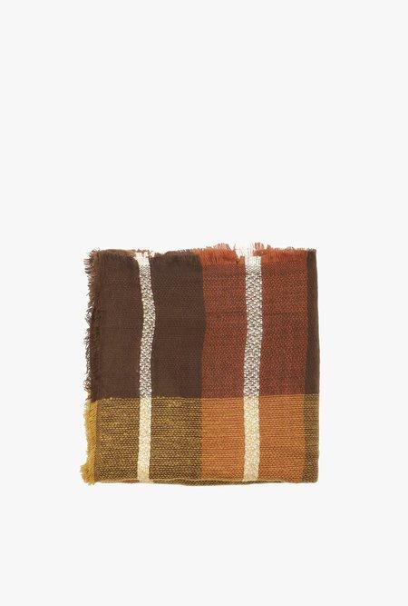 Azalea Plaid Blanket Scarf