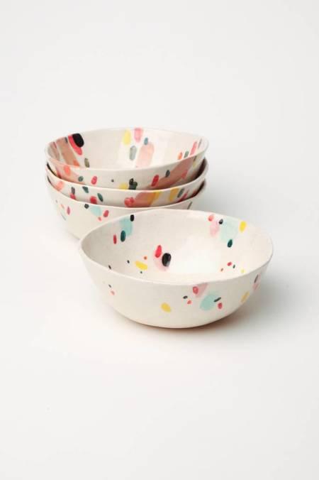 Alice Cheng Studio Confetti Small Bowl - multi