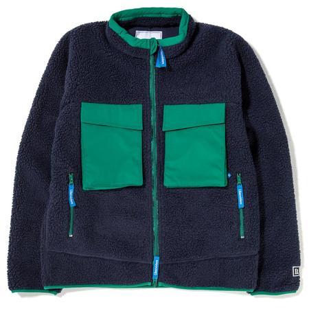 Liberaiders Pile Fleece Jacket - Navy