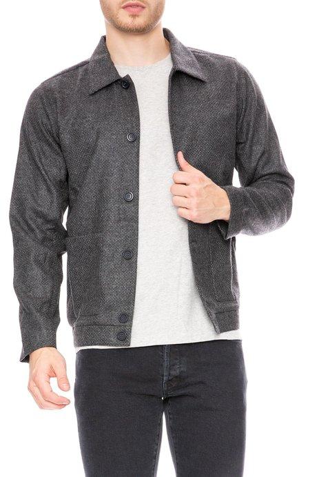 Commune de Paris Merino Wool Button Jacket