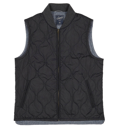 Grayers Mackay Quilted Vest - Black
