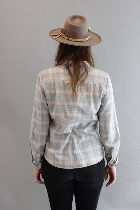 Frank & Eileen Heavy Flannel - Taupe