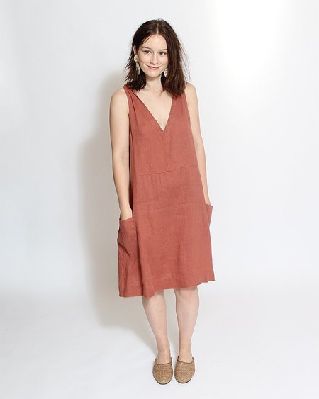 Sugar Candy Mountain The Nancy Dress - Terracotta