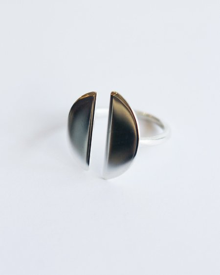 Claus Split Ring - Sterling Silver