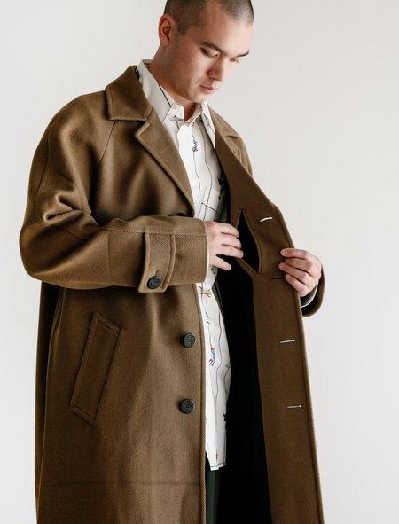 Marni Wool Overcoat - Army