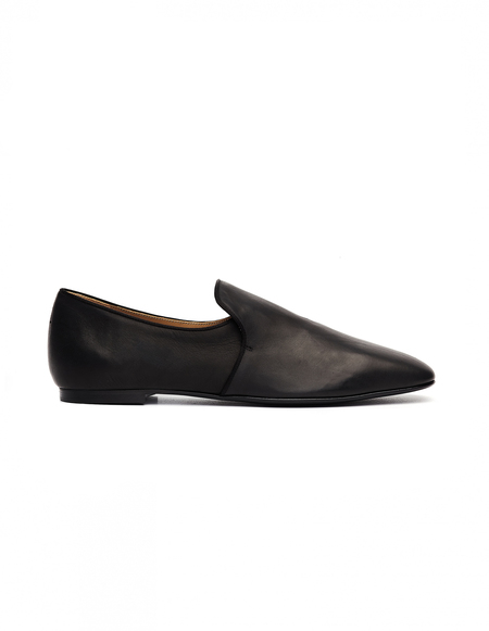 The Row Alys Leather Loafer Shoes