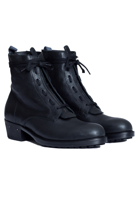 UJNG Agave Combat Boots - Black