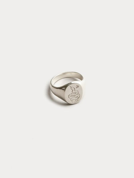 Wolf Circus Ophidian Ring - Sterling Silver