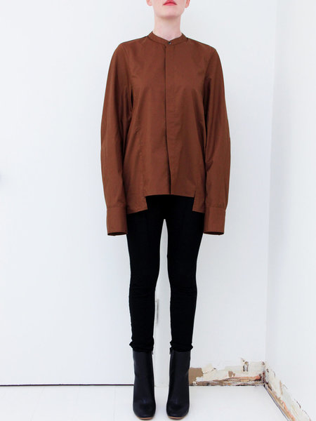 ffiXXed Studios Cocoon Shirt - Coffee Brown