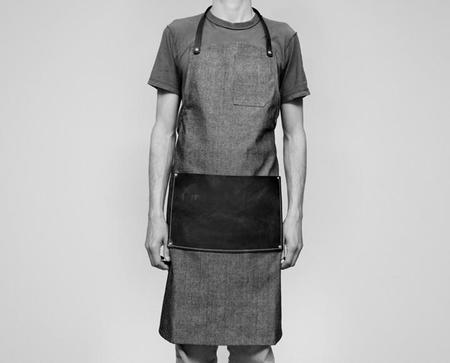 Apron & Bag Leather Lap Apron - Denim